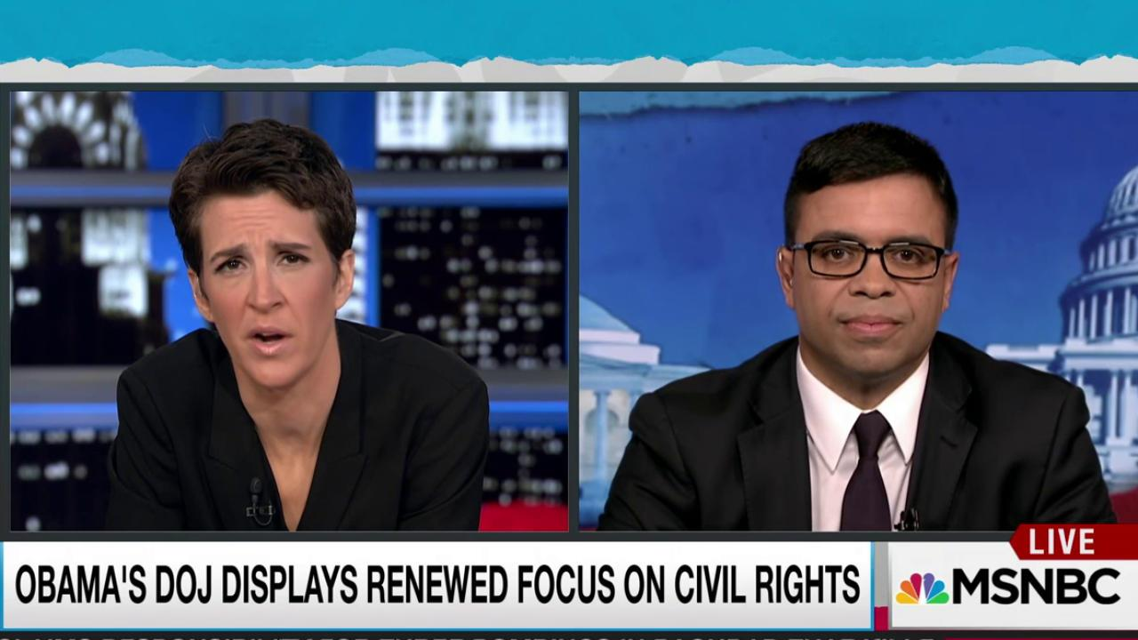 Civil Rights Division strengthens under Obama