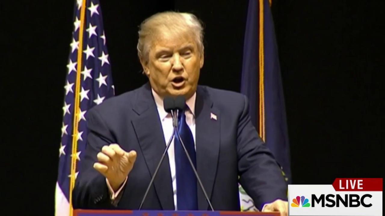 Trump reverses on self-funding, Muslim ban