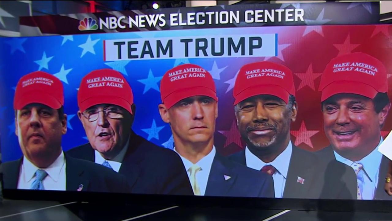 Who's on Team Trump?