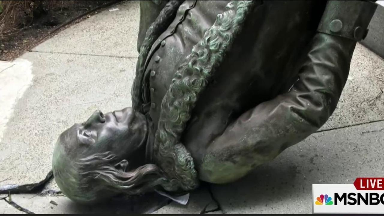 Ben Franklin loses fight with high winds