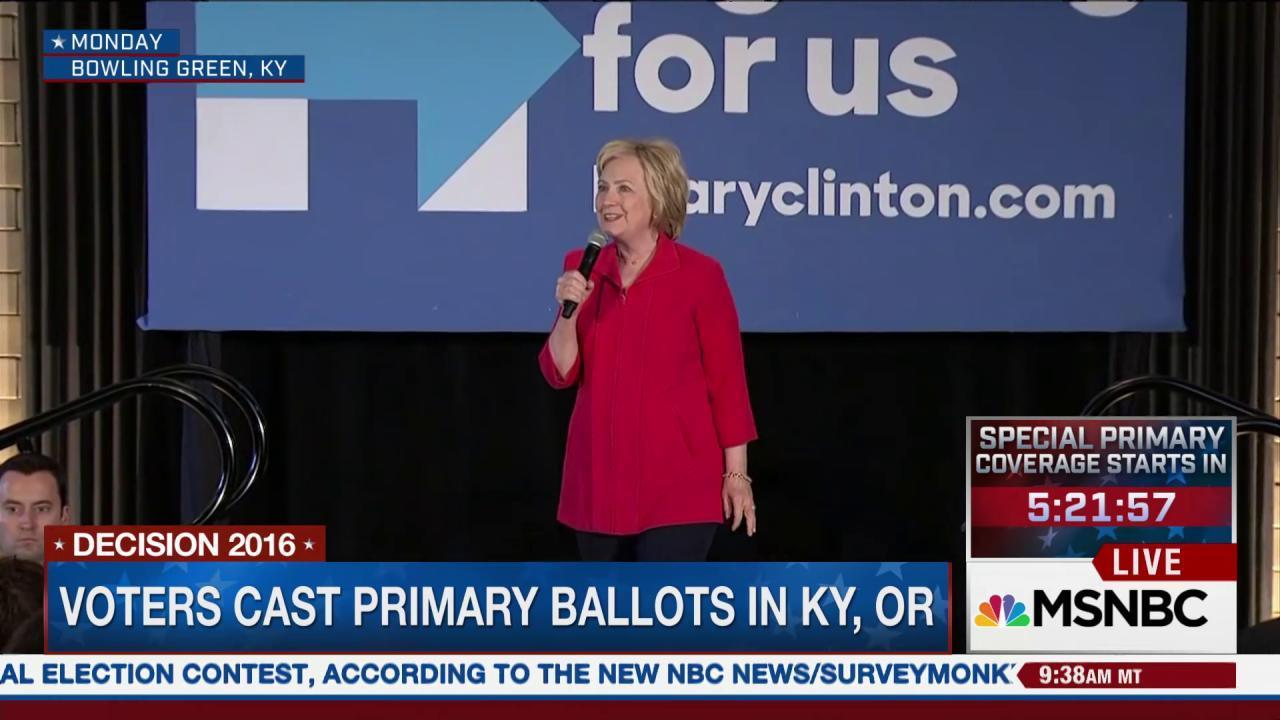 Voters cast ballots in Kentucky, Oregon