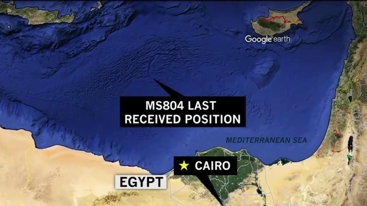EgyptAir flight from Paris to Cairo vanishes