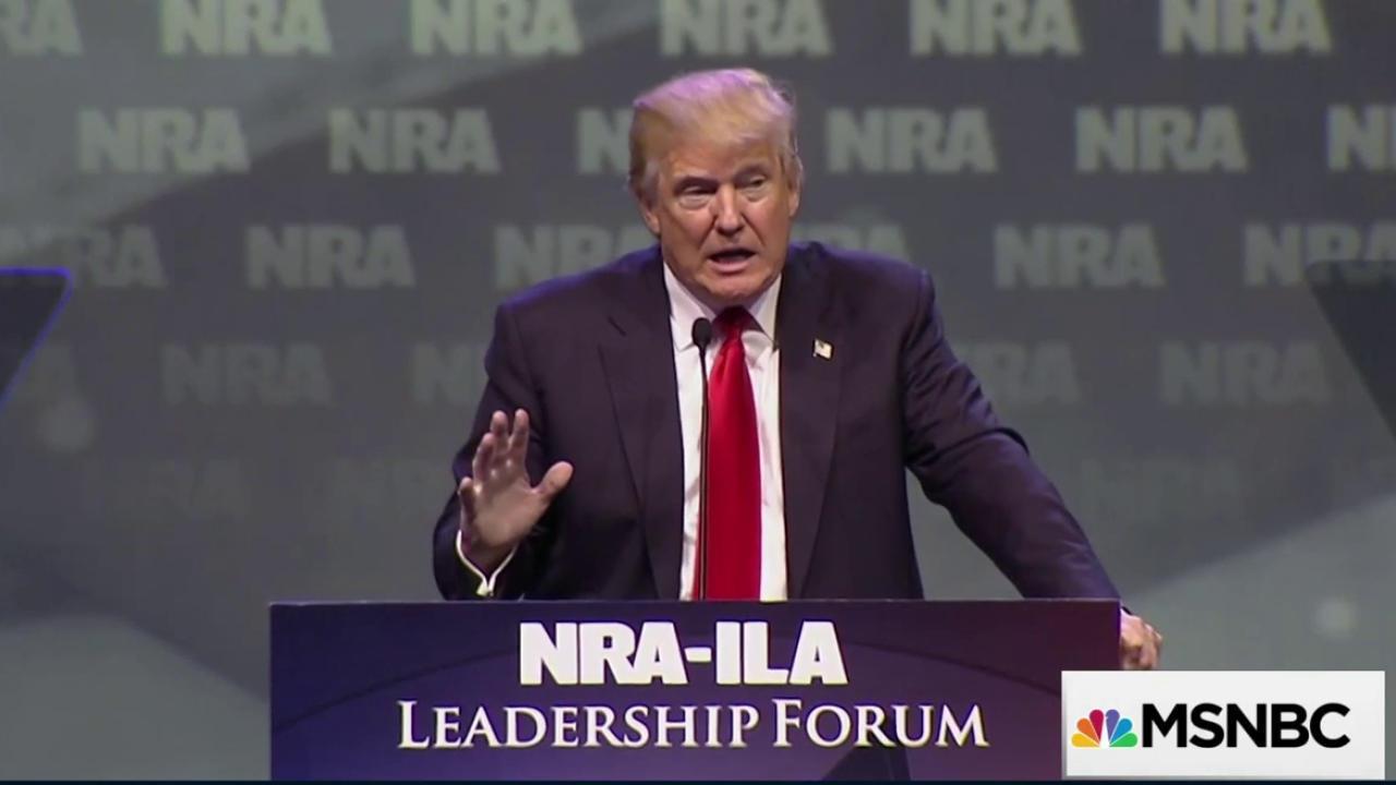 Trump: 'We're getting rid of gun-free zones'