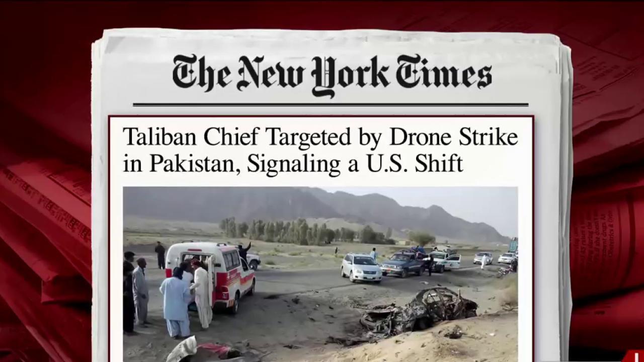 Top Taliban leader killed in US drone strike