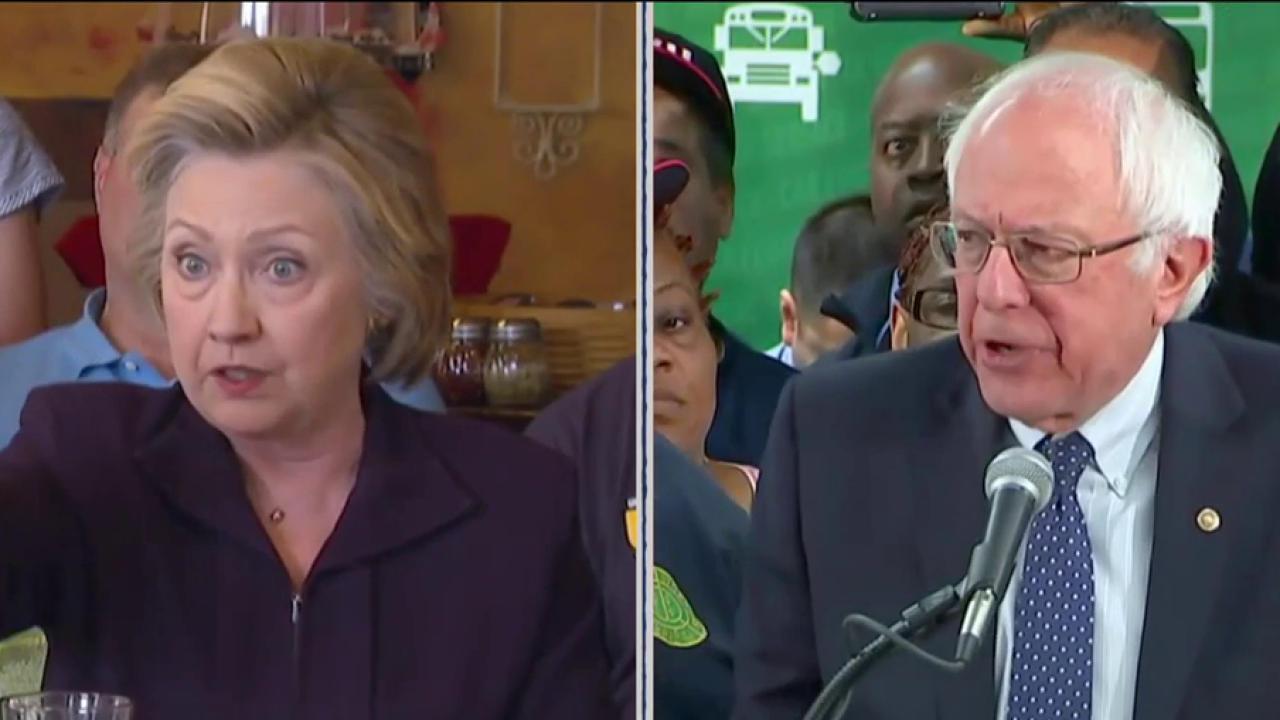 Poll: Democratic Divide Hurting Clinton