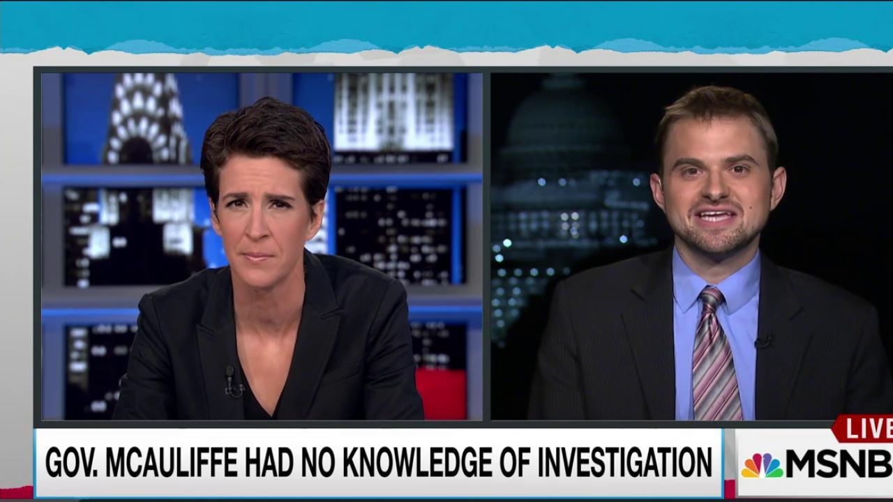Virginia governor under FBI investigation