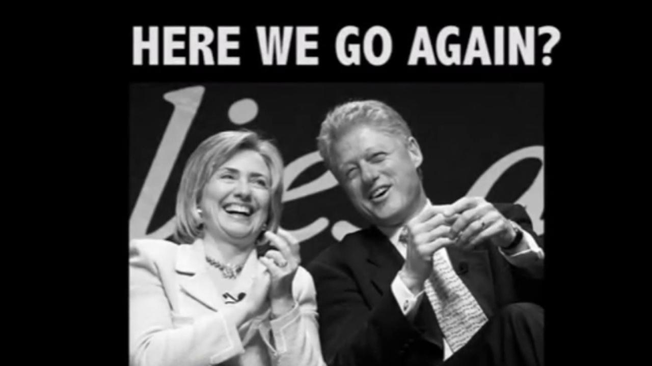Trump ad raises Clinton rape allegations