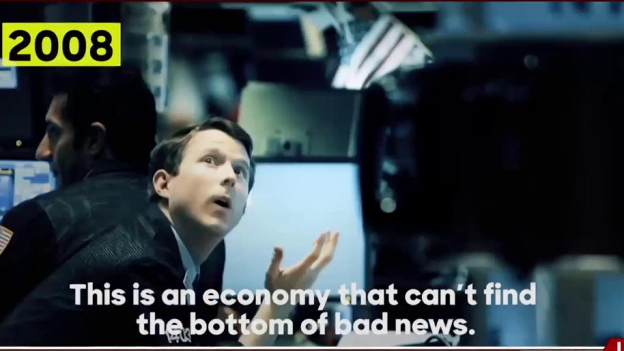Trump wanted market to fail, Clinton ad...