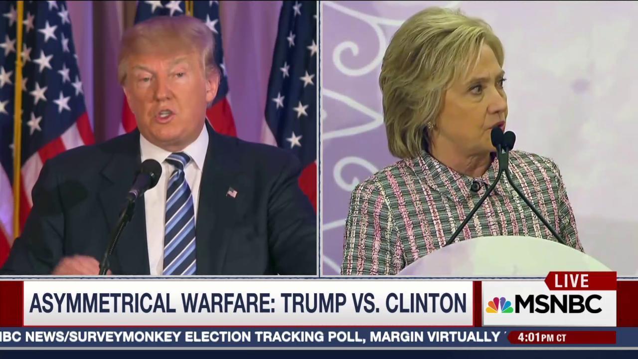 Trump Reignites Clinton Conspiracy Theories