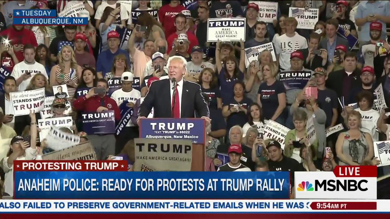 Is Anaheim ready for a Donald Trump rally?