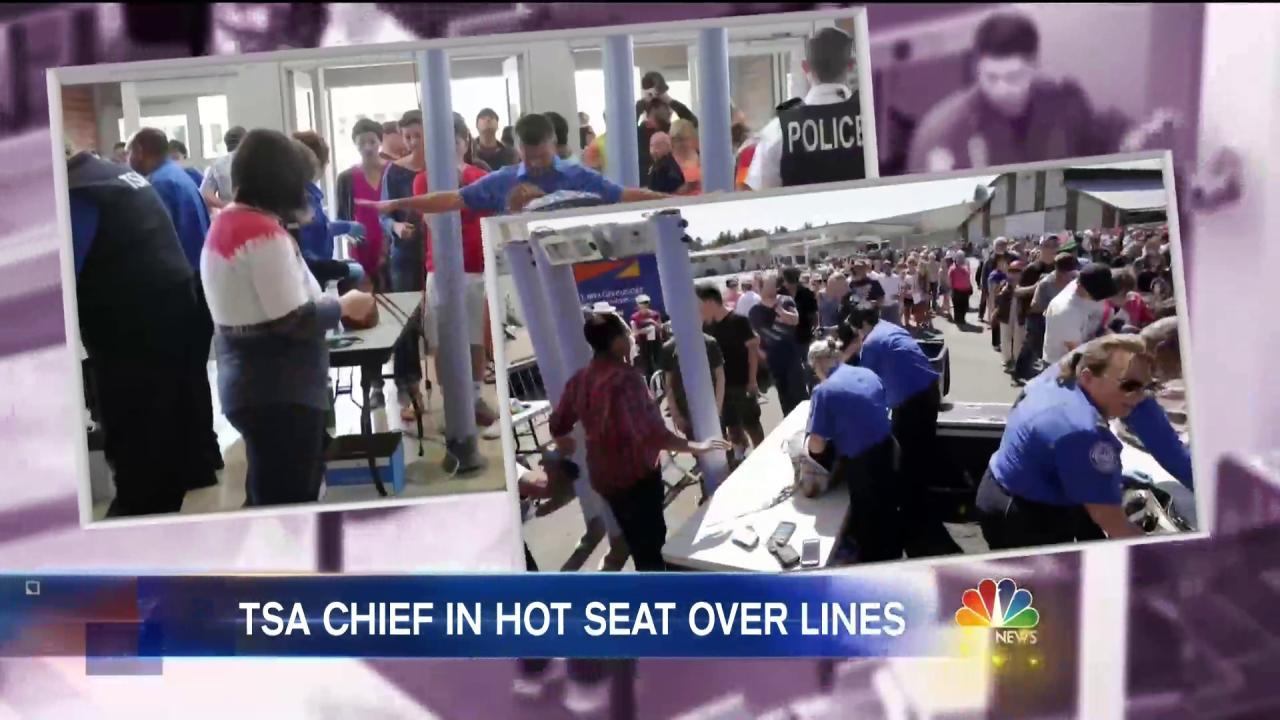 TSA Chief: More Screeners on the Way to Deal With Long Security Lines