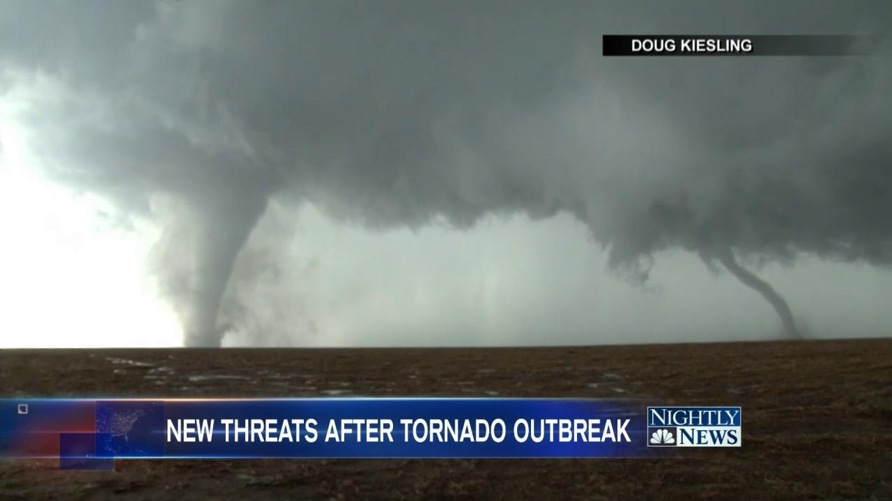 Powerful Tornadoes Touch Down in Kansas