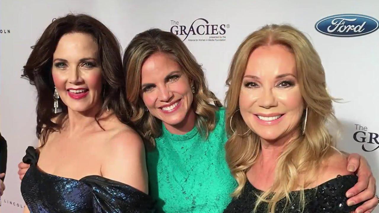 Natalie Morales, TODAY honored at Gracie Awards