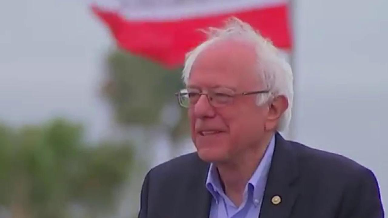 Will Sanders bow out with a California loss?