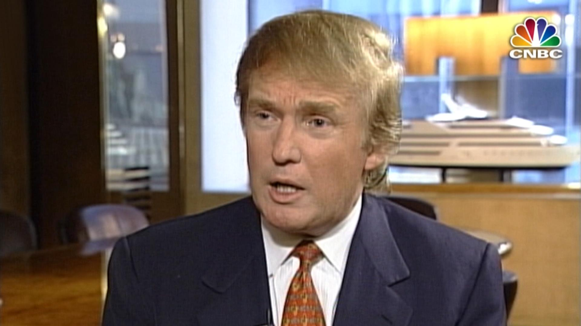 1998 donald trump comments on bill clinton and the