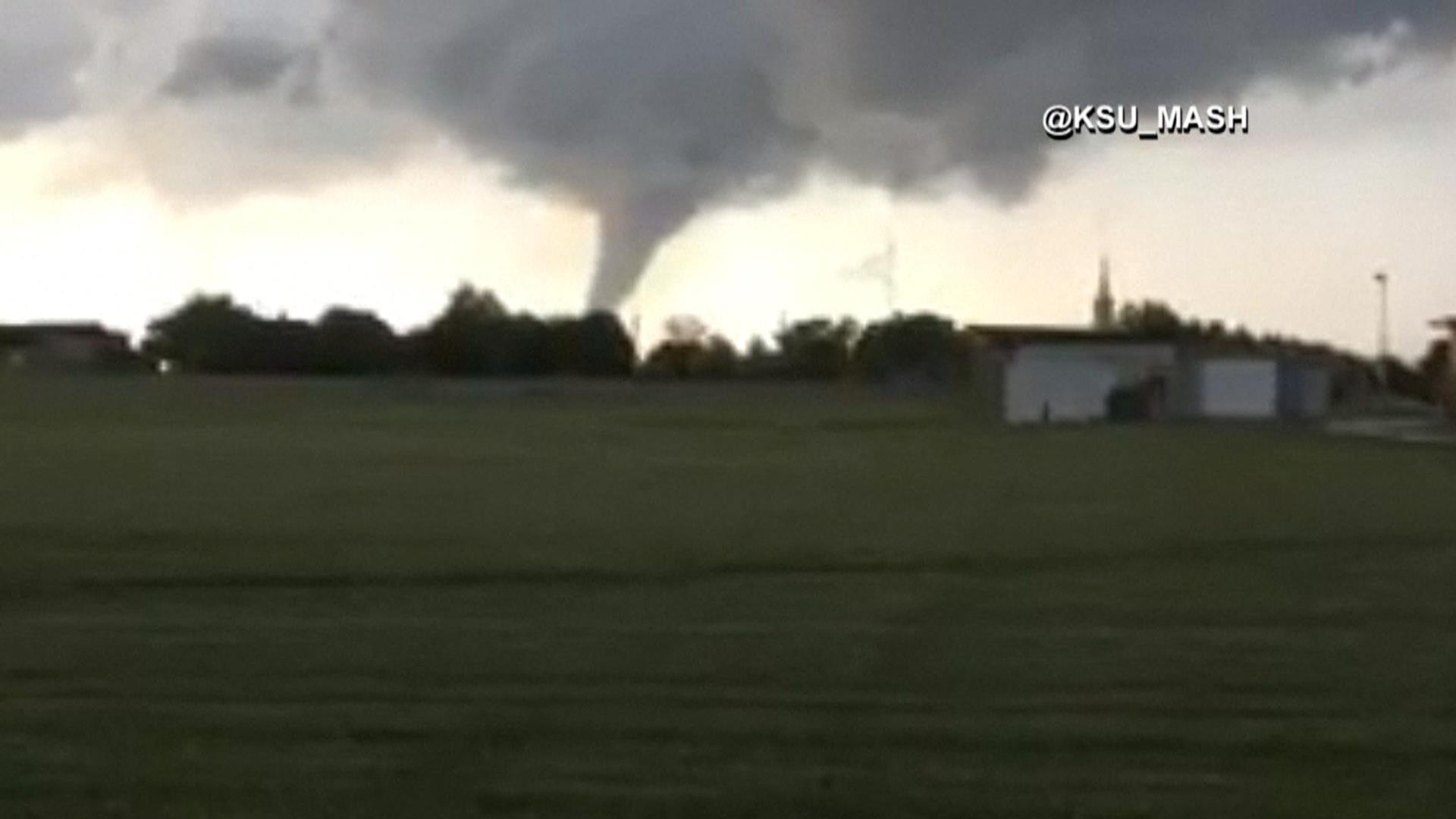 Tornado Touches Down In Kansas Nbc News