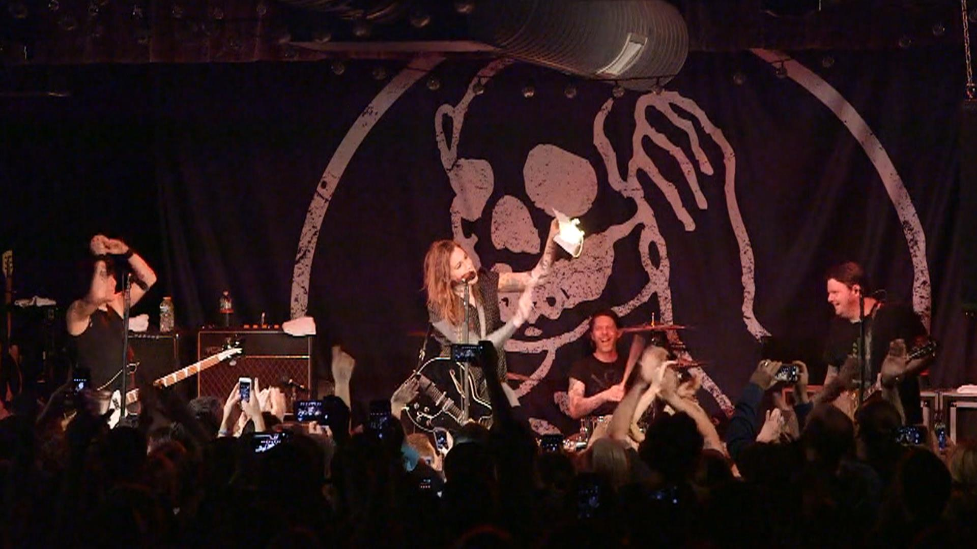 Rocker Laura Jane Grace Burns Birth Certificate On Nc Stage