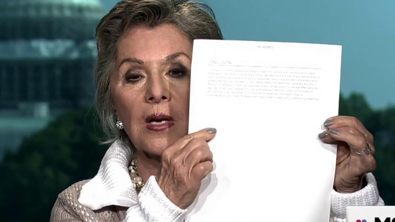Senator Boxer: Clinton Email Audit 'Such a...