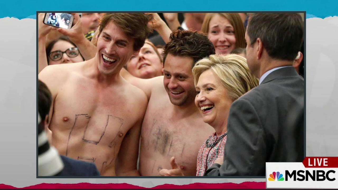 Primary pranksters featured in new Clinton ad