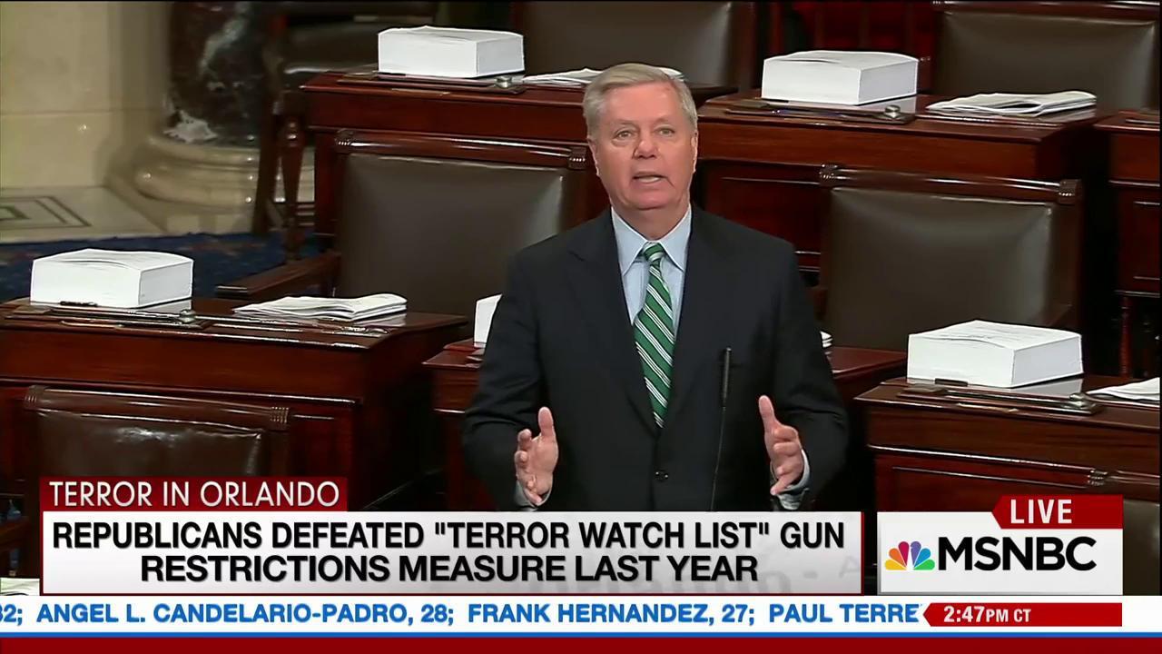 Massacre reignites gun control debate