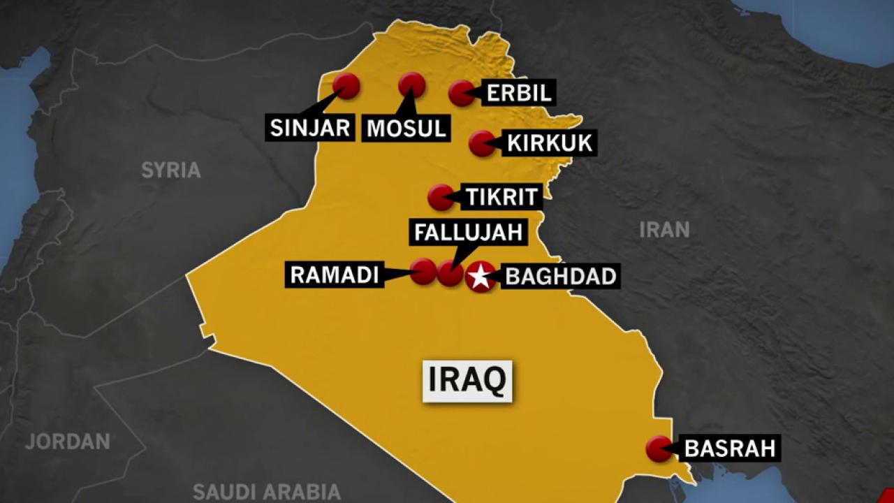 Iraqi forces claim to take parts of Fallujah