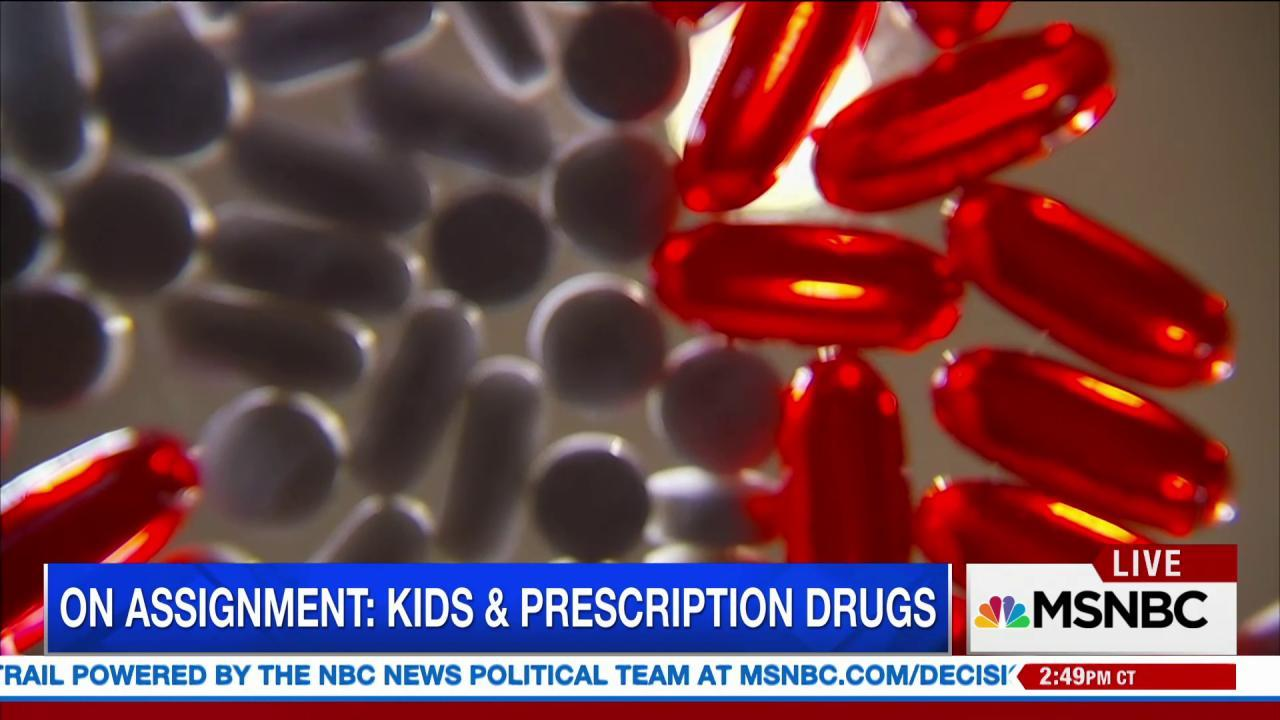 Effects of prescribing kids anti-psychotics