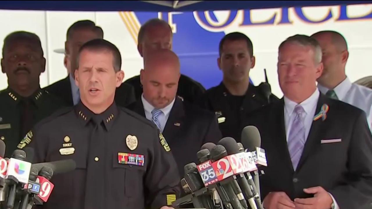 Law enforcement describes Orlando timeline