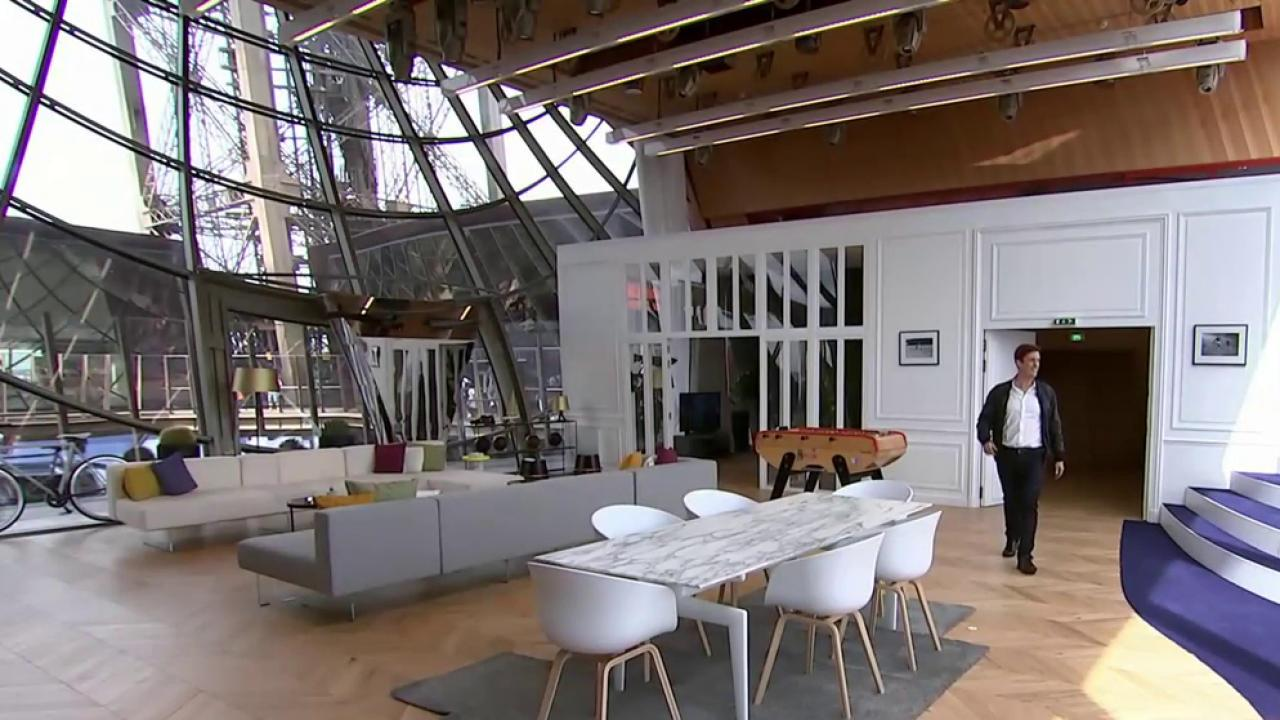 Visit the luxury apartment hidden inside the eiffel tower for Apartment inside