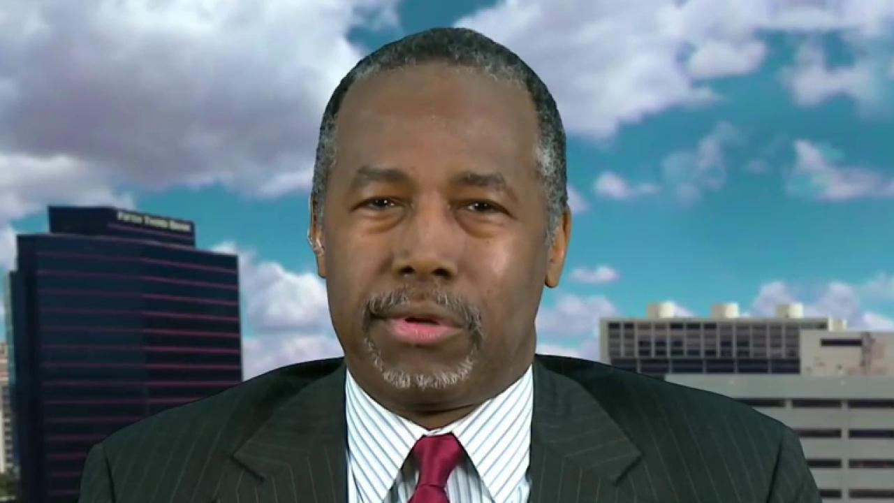 Ben Carson: Trump will fight fire with fire