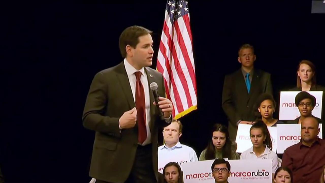Wash. Post: Rubio to run for Senate
