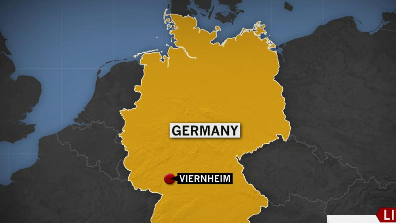 Map Of Viernheim Germany.Report Gunman Takes Hostages At Movie Theater In Germany