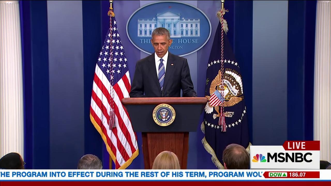 Obama responds to SCOTUS ruling