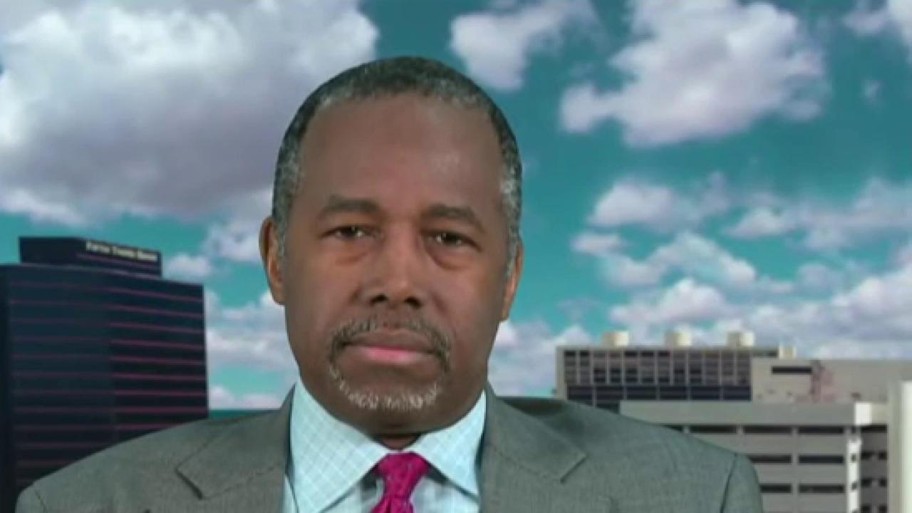 Carson: Let's put 2nd amendment on the table