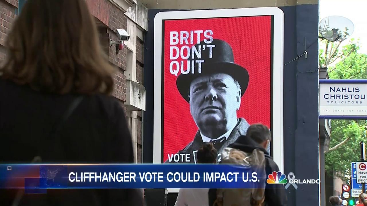 In or Out? British Voters Choose Countrys European Future