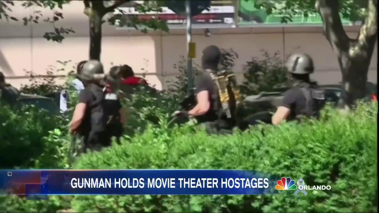Police Kill Gunman During Movie Theater Siege in Germany
