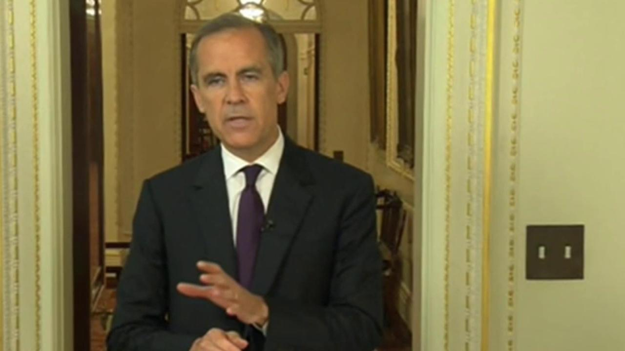 Bank of England head: Economy is strong