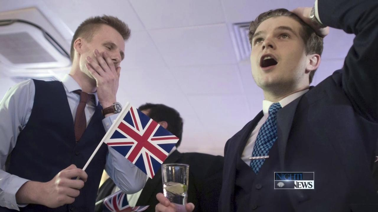 Britains Vote to Leave EU Sends Global Markets Plummeting