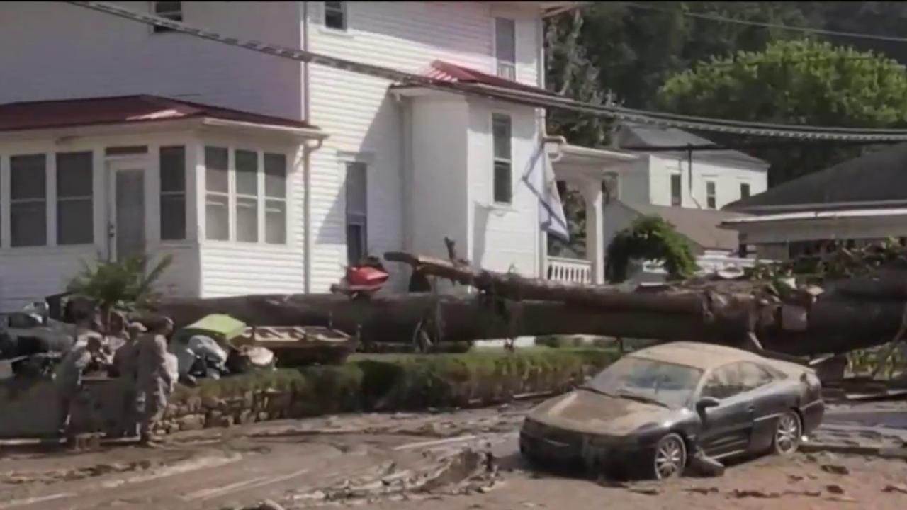 West Virginia floods begin to recede after days of devastation