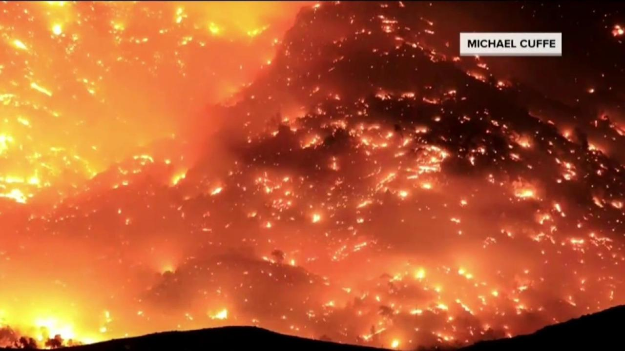 Massive California wildfire only 10 percent contained
