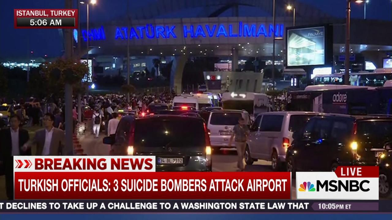 Officials: Istanbul attack fits ISIS profile