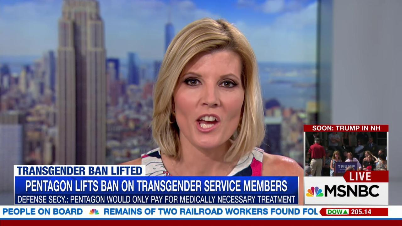Will new transgender policy change military?