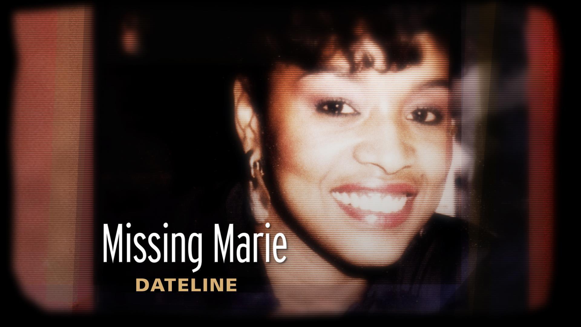 Dateline Trailer: Missing Marie