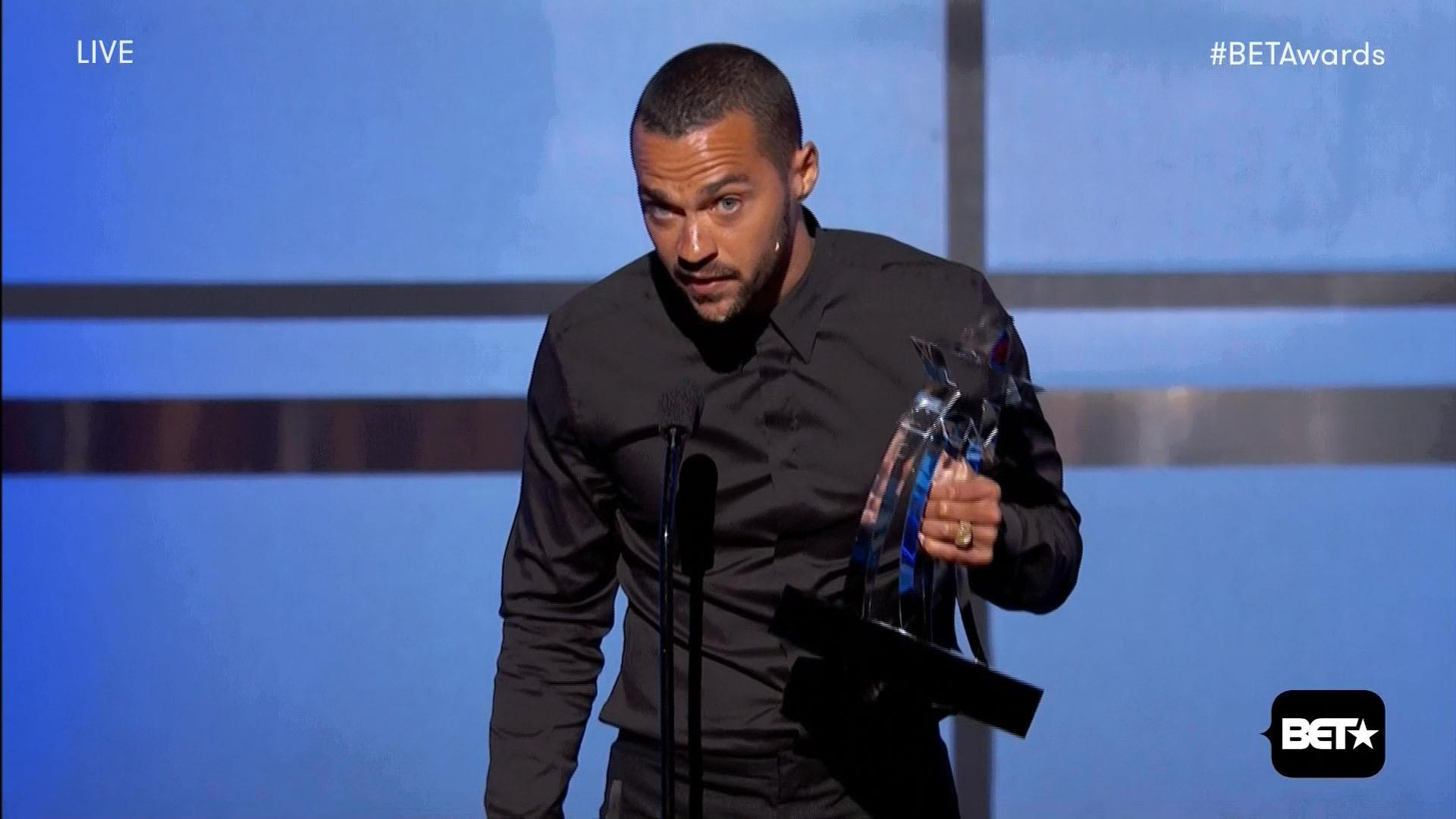 Highlights from Jesse Williams' BET speech