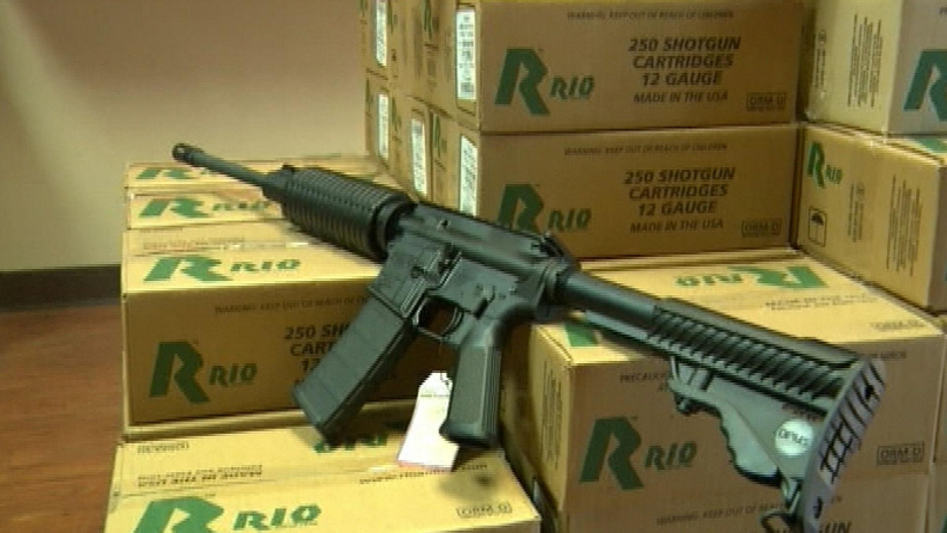 Florida Senator Raffles Off AR-15 Rifle