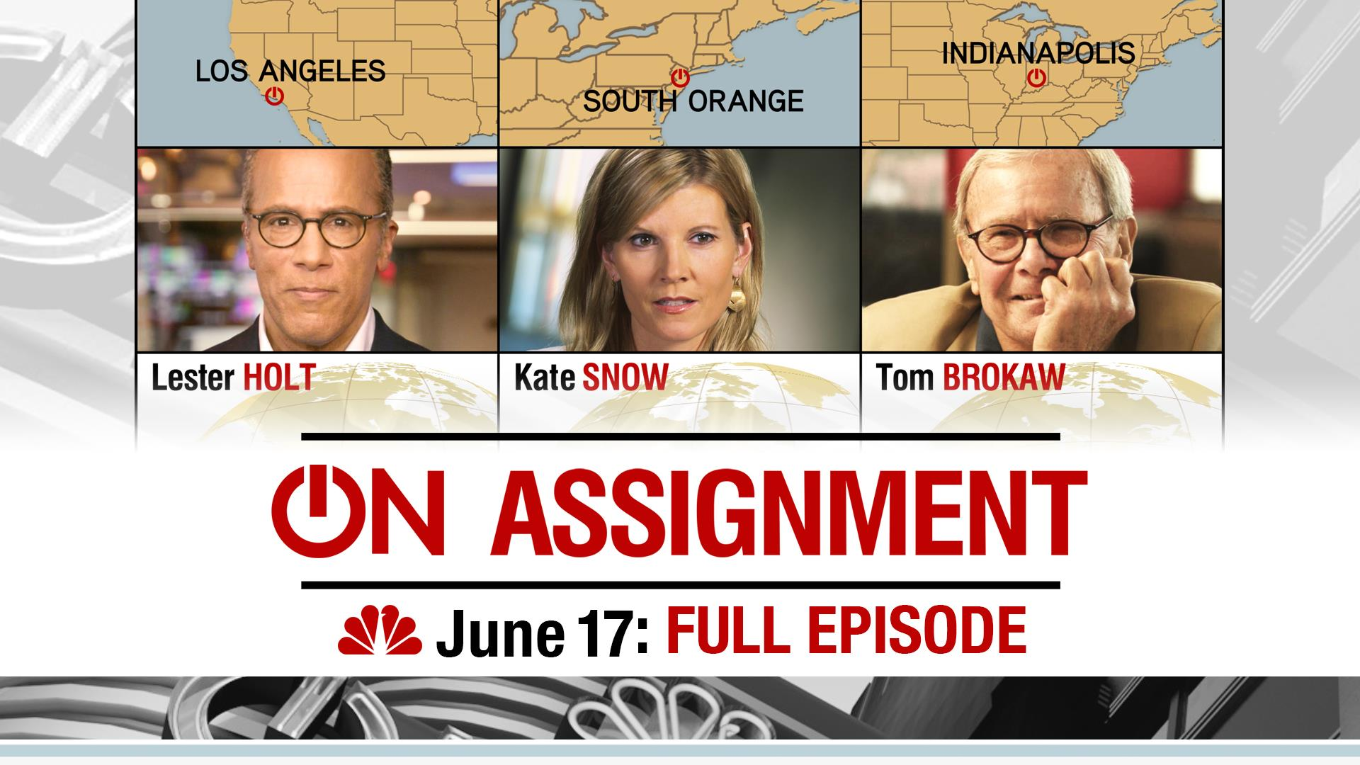 FULL EPISODE: On Assignment June 17th