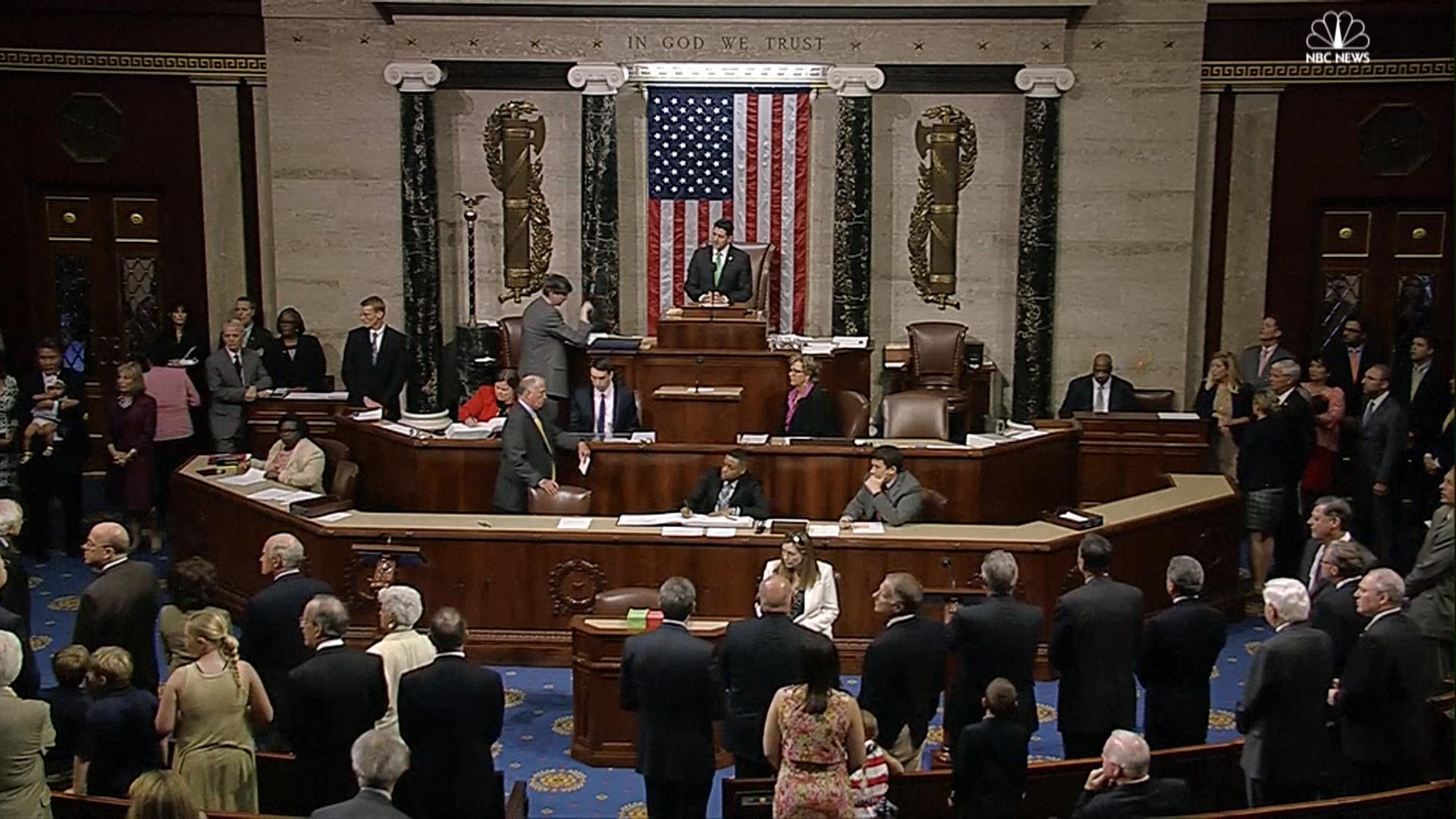 Fight In House Of Representatives After Moment Of Silence
