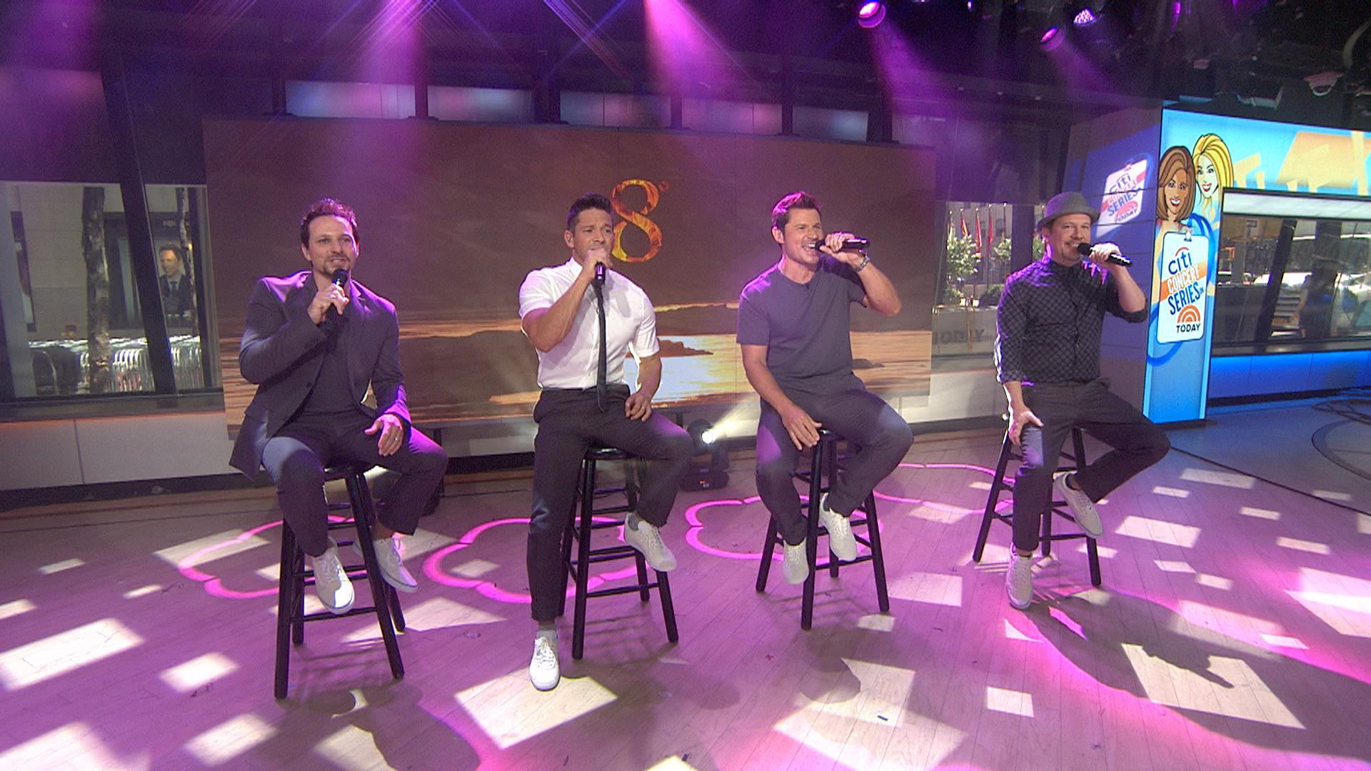 98 Degrees perform hit 'The Hardest Thing' live on TODAY