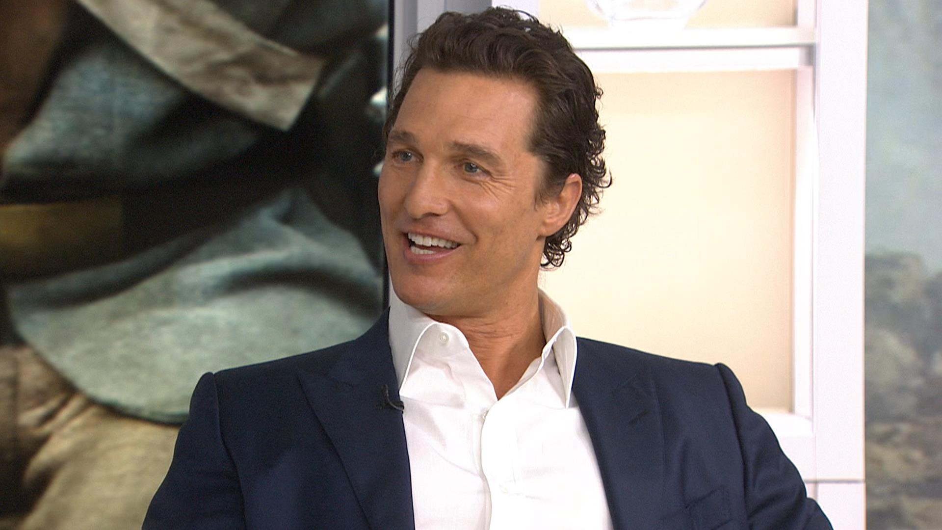Matthew McConaughey on 'epic' film 'Free State of Jones ...