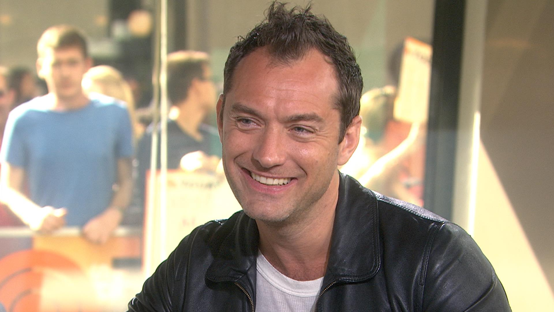 jude law on his performance as thomas wolfe in �genius