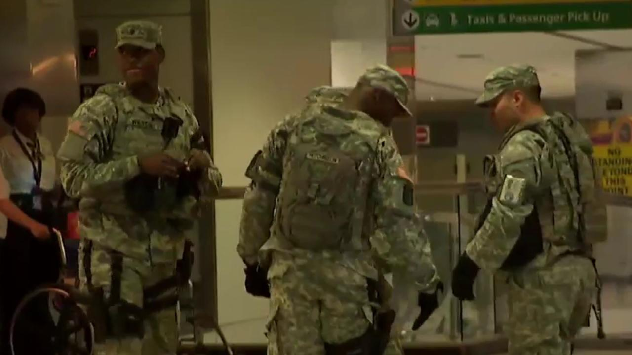 Heightened security for July 4th weekend